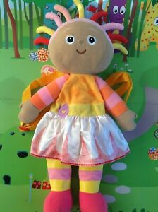 In-The-Night-Garden-Plush-Upsy-Daisy-Back-Pack-Bag-Very-Rare