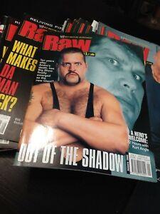 WWF Raw Magazine October 1999 The Rock, Triple H   eBay