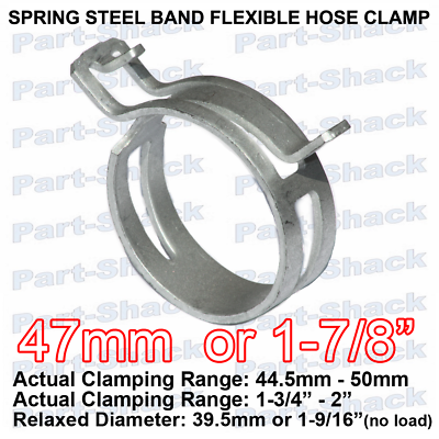 Size: M6 Ochoos Custom 304 Stainless Steel Small Round Single Wire Adjustable Torsion Spring Hose clamp for Tube