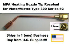 Mfa Heating Nozzle Tip Rosebud For Victorvictor Type 300 Series 2 1187 2
