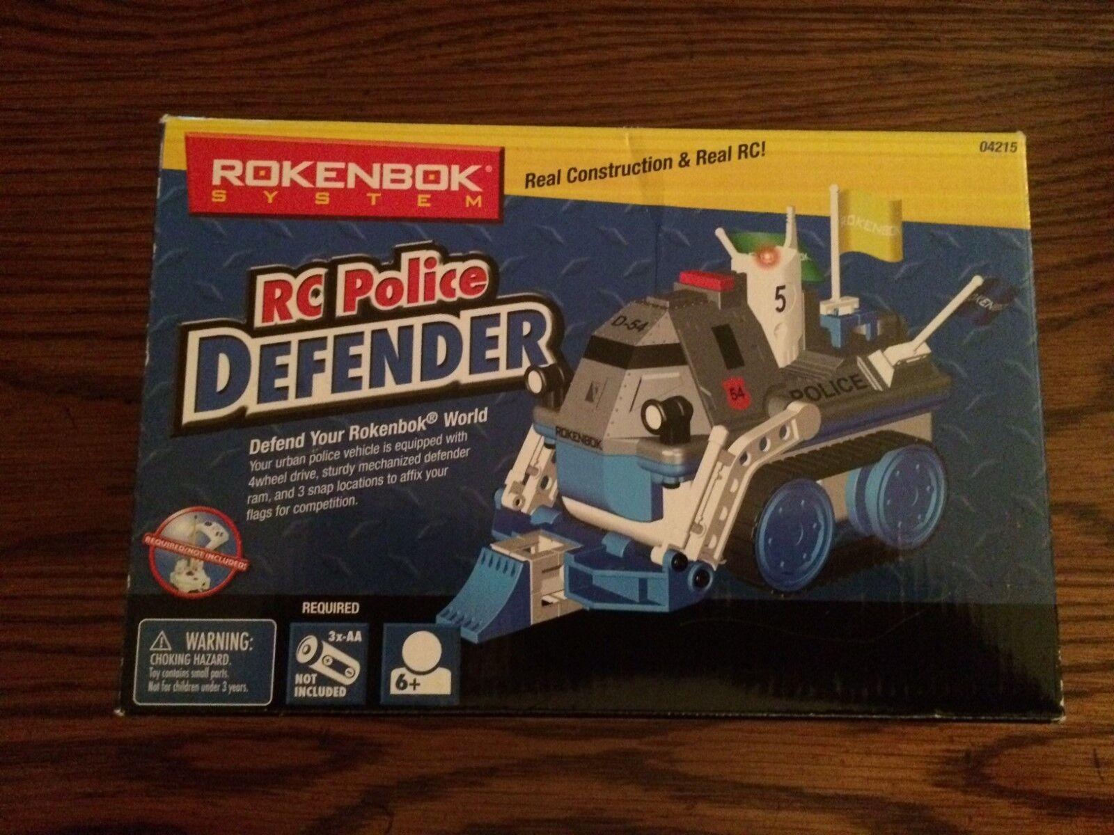 Rokenbok 04215 RC Police Defender for the Original Rokenbok Building System New