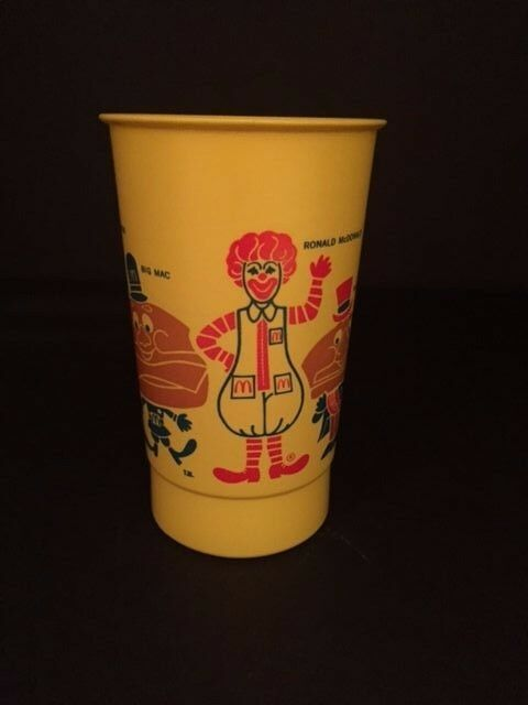 rare promo vintage unused McDonald/'s Whirley cups Santa Pumpkin Ronald Halloween