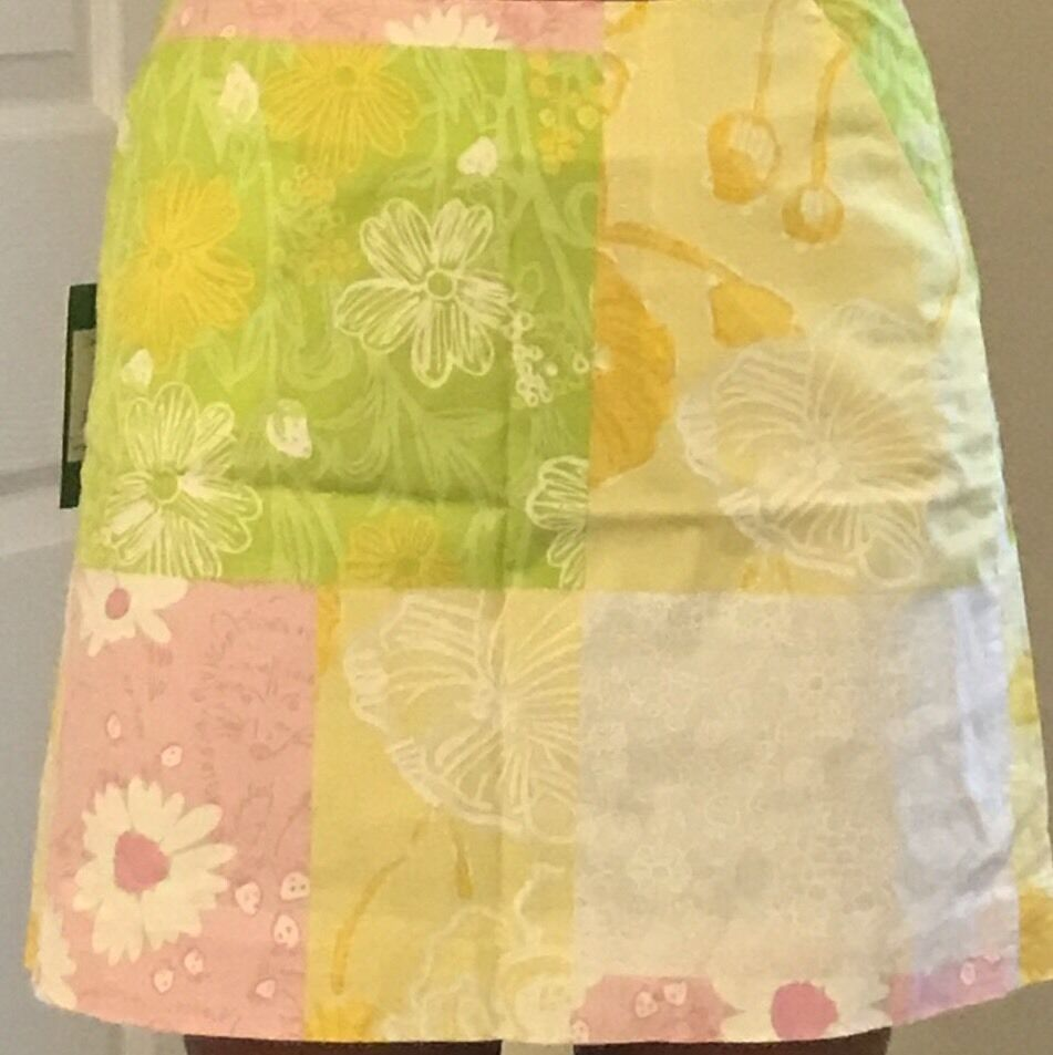 NWT Lilly Pulitzer Simple Skirt 2 Patchwork Print