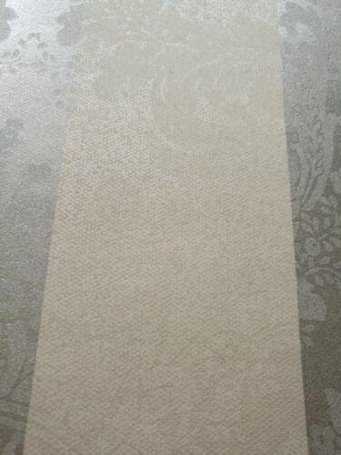 Designtapete Motive Silber Grau Blockstreifen Sand Glanz Tapete Velour