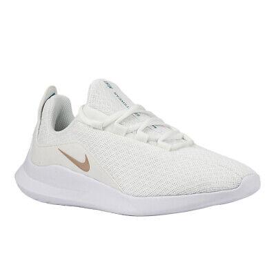 NIKE Viale WMNS Damen Sneaker AA2185 102 SALE Schuhe Turnschuhe Weiß Rose Gold | eBay
