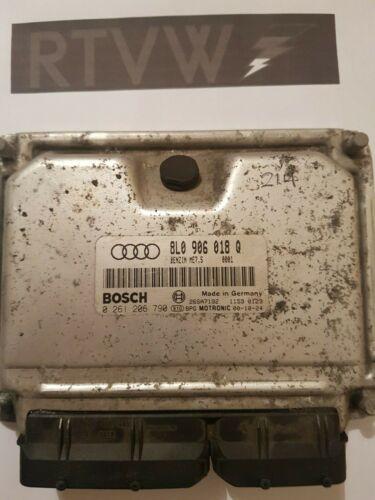 AUDI TT Mk1 8N 1.8T ARY AUQ BOSCH ECU 8L0906018Q TUNED REMAPPED 180BHP STG 1