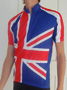 British-Flag-Cycling-Bike-Jersey-Mens-Ladies-Woman-039-s