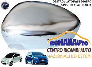 CALOTTA COPPA SPECCHIO FIAT GRANDE PUNTO & 500 DAL 2007 SINISTRA CROMATA