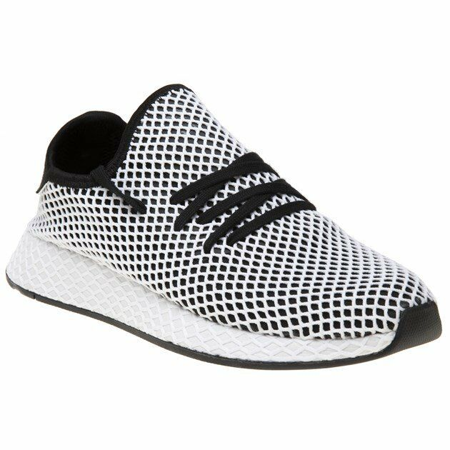 36ed77b5c adidas Originals Deerupt Runner Black White Men SNEAKERS Cq2626 US 10.5 for  sale online