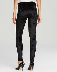 2ea46cc91abfd HUE Extra Small Black Crushed Velvet Leggings NWT (Location 1186A-1B ...