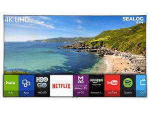 SEALOC LAN-SSQ70-82 82 inch 4K LANAI Weather Resistant Samsung QLED Q70 Smart TV
