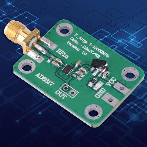 1M-10000MHz AD8317 Radiofrequenz logarithmische Log Detektor Leistungsmesser