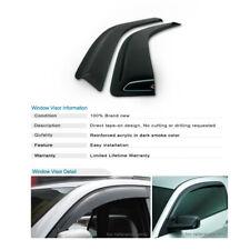 For Ford E350 Econoline Club Wagon Side Window Deflector Ventshade 89687QW