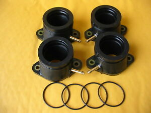 Intake-Manifold-Boots-Yamaha-FJ1100-FJ1200-Carb-Holders-with-orings