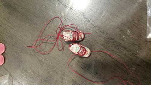 OOAK Sneakers with real laces for Tutti-choose color~free shipping
