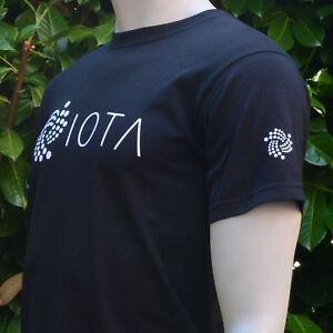 IOTA-MIOTA-Men-039-s-T-Shirt-Print-on-Front-Back-and-Both-Sleeves-Crypto