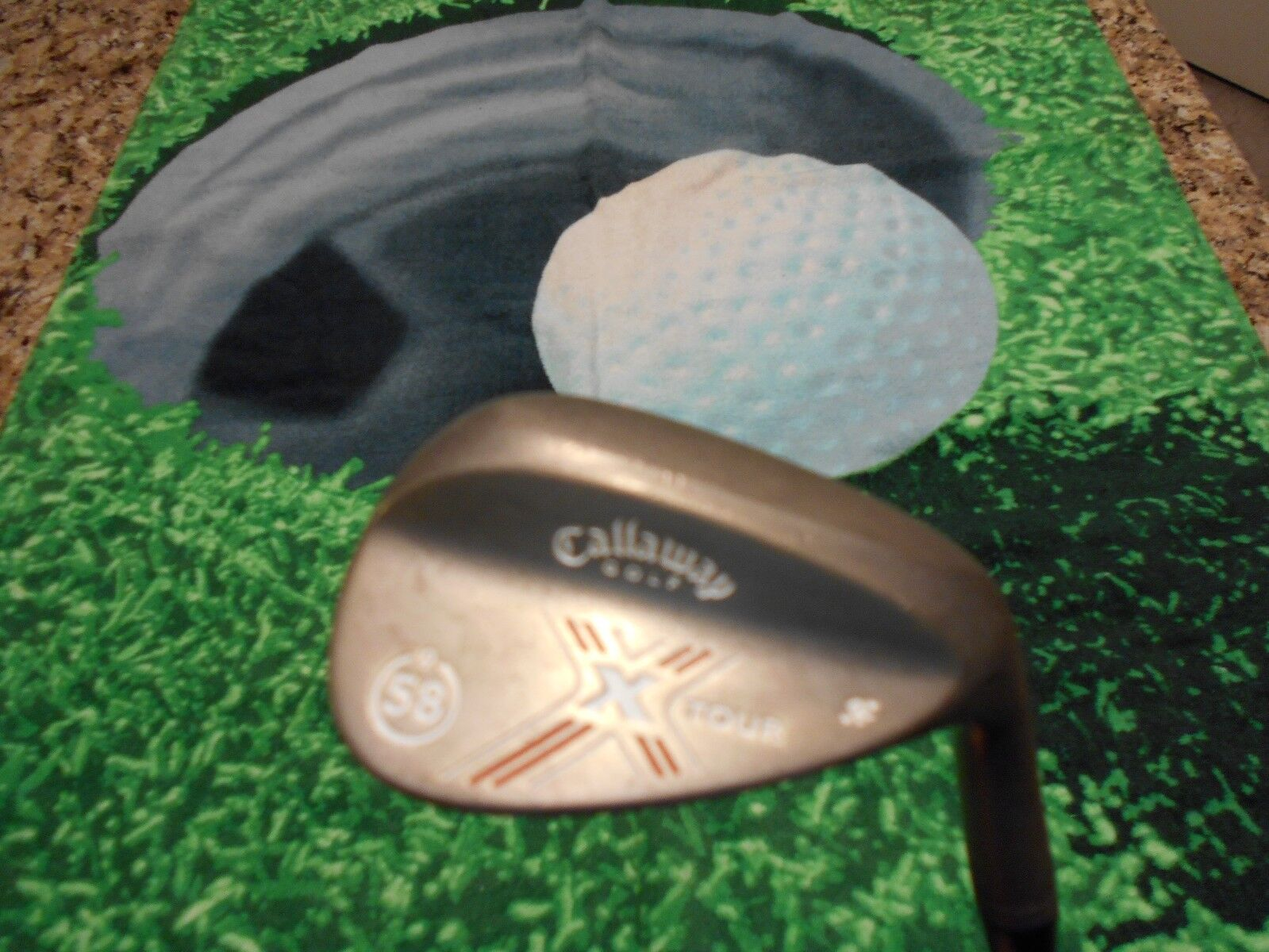 Callaway X Tour Forged  58 9 Bounce Pro Wedge CALLAWAY X TOUR Wedge Flex Steel