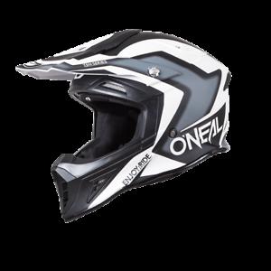 O-Neal-Crosshelm-Enduro-10-Series-ONEAL-Flow-schwarz-weiss-Gr-XL-61-62-cm