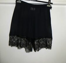 VERY RARE!HAUTE COUTURE YVES SAINT LAURENT SILK LACE EVENING SHORTS TROUSERS
