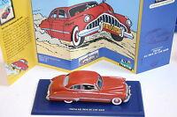 1/43 1953 Buick Matte Red Lhd Au Pays De L'or Noir En Voiture Tin Tin