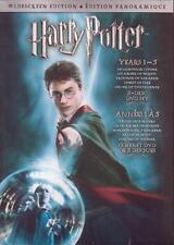 6 DVDS - HARRY POTTER YEARS 1-6 WIDESCREEN NEW Stone Secrets Azkaban Half-Blood