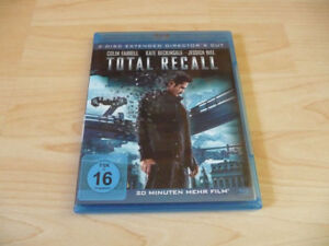 Doppel Blu Ray Total Recall - Colin Farrell Kate Beckinsale - 2012