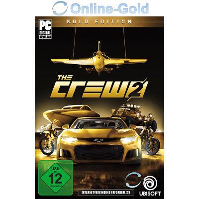 The Crew 2 Gold Edition - PC Uplay Spiel Digital Download Code [Vorbestellen]