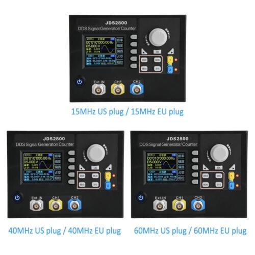 JDS2800 2CH 14 Bits DDS Function Arbitrary Waveform Signal Generator+Software SL