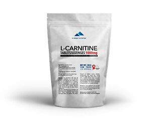 L-Carnitine-Carnitine-tablets-lozenges-1000mg-Pure-Pharmaceutical-Quality