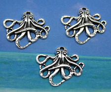 20pcs Style restoring ancient ways Lovely octopus alloy charm pendants 20*23mm