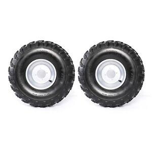 8/' Rim 19x7x8  Left /& Right 19x7-8 ATV UTV Wheel 4 PLY Knobby Tubeless Tire