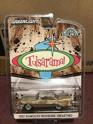Greenlight  Hobby Exclusive 1957 Plymouth Belvedere Tulsarama PREORDER