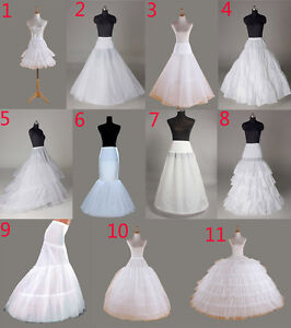 549f67224da4 Image is loading Petticoat-crinoline-hoop-underskirt-Wedding-petticoat- fishtail-mermaid-