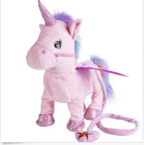 Walking Talking Unicorn Plush Toy With Talk Singing Songs XMAS Gift Kids Toy US