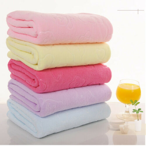 4pcs Egyptian Towels Bath Sheets Large Soft Guest Hotel Towel Random G9Z