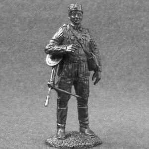 Machine Gunner Red Army 1//32 Figure Toy Tin Soldier 54mm Metal