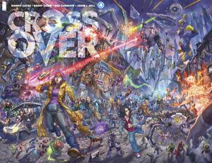 Crossover #4 Alan Quah Scorpion Comic Trade/Virgin Set Two LTD 666 copies COA