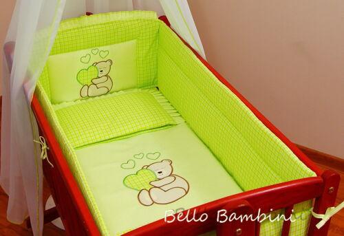 5pc beddingset//duvetduvet housse//oreiller 4 baby swinging crib//berceau 100/% coton