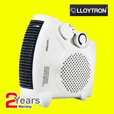 Lloytron 2000w ventilateur chauffage avec 2 réglages de chaleur & cool coup compact F2003WH ce