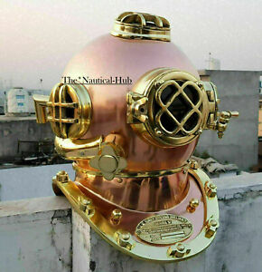 Antique Vintage Morse Navy Diver Diving Helmet Mark V Deep Scuba Divers Helmet