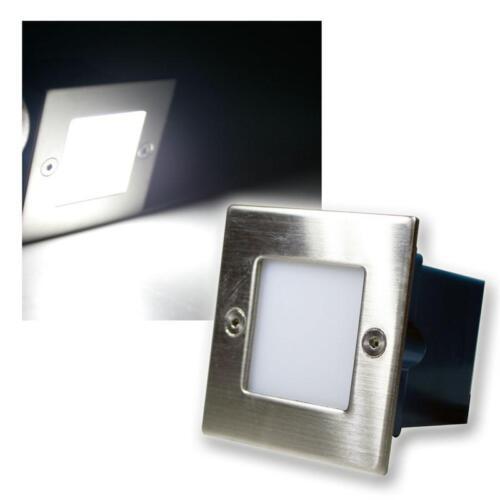LED Lampe wandeinbau extérieure//intérieure kaltweiß acier inoxydable wandeinbau projecteur 230v