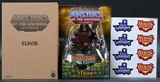 """2014 Mattel MOTU Masters of The Universe Classics Eldor 6"""" Action Figure MIB"""