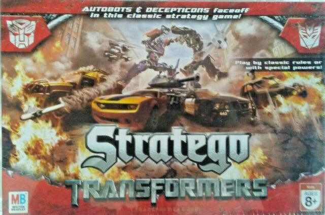 Stratego Transformers Edition Board Game 2 Players Ages 8+