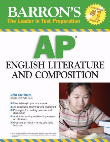 Barron S AP English Literature And Composition By George Ehrenhaft 2008 Paperback