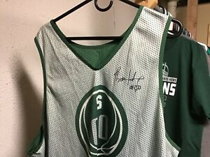 best service cca93 ddf14 Details about Michigan State Spartans Basketball practice jersey