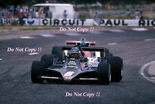 Ronnie Peterson JPS Lotus 79 French Grand Prix 1978 Photograph