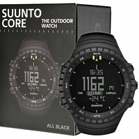 Suunto Core All Black Military Outdoor Sports Watch Ss014279010 - Ships In Us