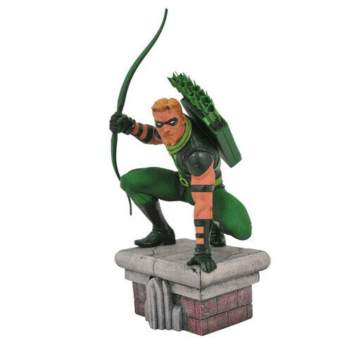 DC COMICS - DC Gallery - Green Arrow Arrow Arrow Pvc Figure Diamond a2e