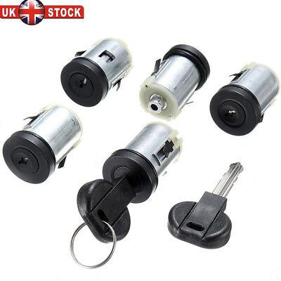 5x Barrel Door Lock Set Barrels /&2 Key For Peugeot Expert Citroen Dispatch