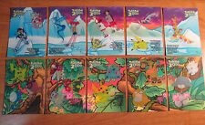 Complete CHASE STICKER Pokemon the Movie 2000 TOPPS Card Set Movie Animation ed